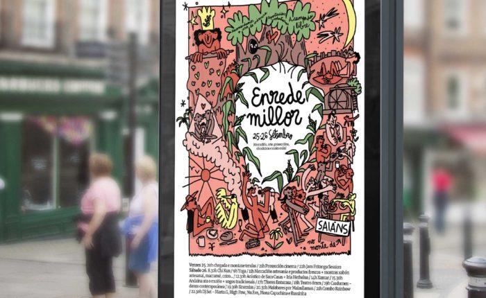 poster cartel festival evento cultura